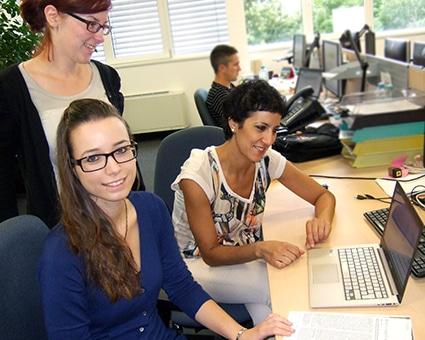 RISC_Software_GmbH FEMtech Praktikantinnen