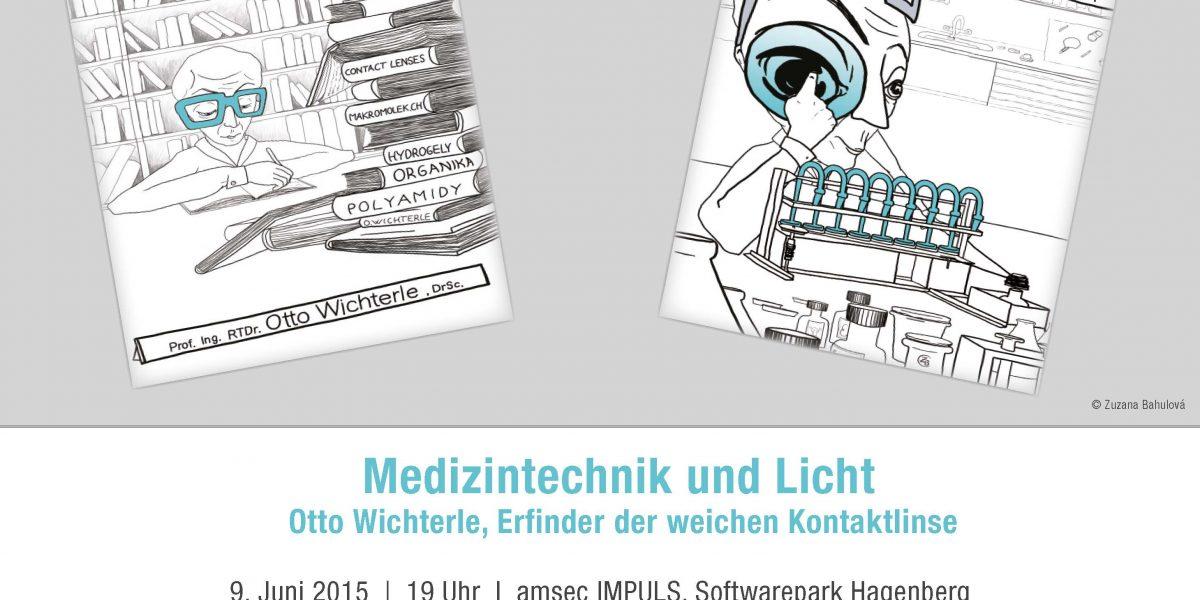 Otto Wichterle Einladung