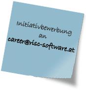 Initiativbewerbung RISC